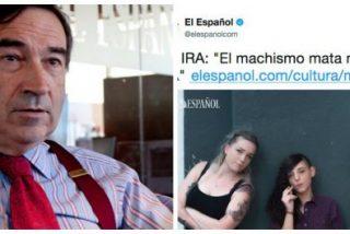 """'El Español' de Pedrojota se cubre de gloria con un 'masaje' a unas raperas feministas: """"El machismo mata más que ETA"""""""