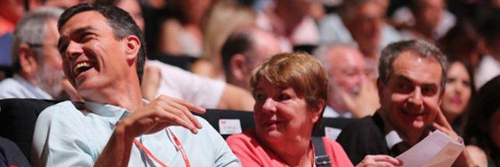 """La advertencia de Manuel Marín a Pedro Sánchez: """"¿Se habrá dado cuenta ya de que su camino hacia la Moncloa sólo puede pasar por desgastar a Podemos?"""