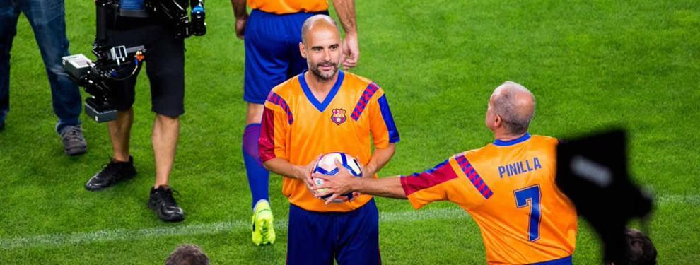 Pep Guardiola le pone en bandeja al Barça un fichaje TOP de la Premier League