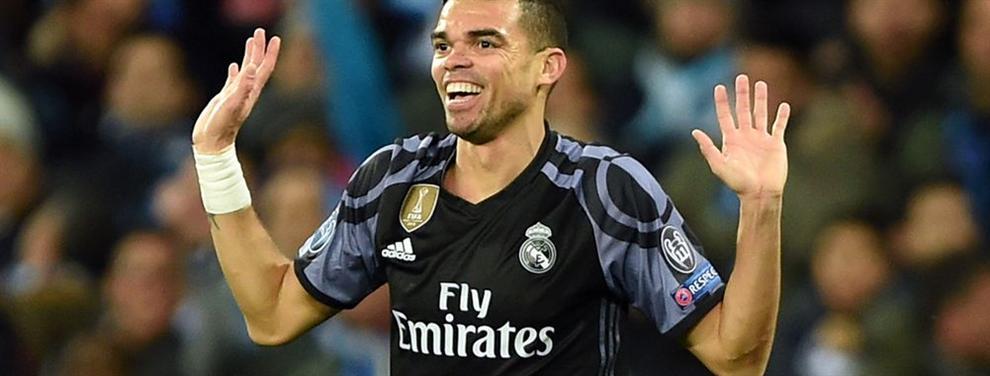 Pepe se va montando un lío que acerca un fichaje al Barça (pero el Madrid tiene un As en la manga)