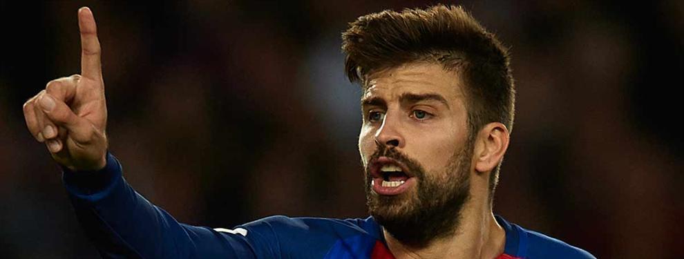 Piqué frena la llegada al Barça de un 'amigo' de Shakira