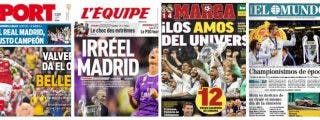 La prensa mundial se rinde ante la grandeza del Real Madrid de Zidane