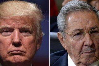 Donald Trump enmienda la plana a Obama y retira el apoyo a Raúl Castro y sus compinches