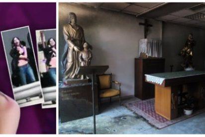 'Discípulos' de Rita Maestre imitan a su maestra y atacan esta vez la capilla de la Universidad Autónoma de Madrid