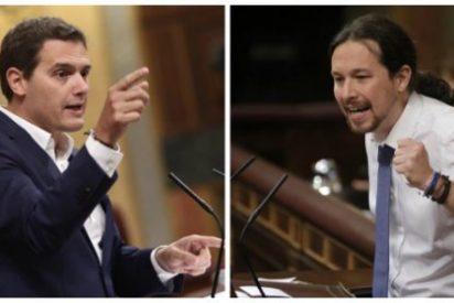 """Albert Rivera se cepilla a Iglesias con una soberana intervención: """"Fidel Castro era más conciso que usted"""""""