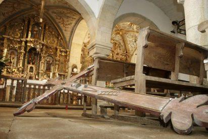 Durante 2016, se produjeron 615 denuncias por robos en las iglesias españolas