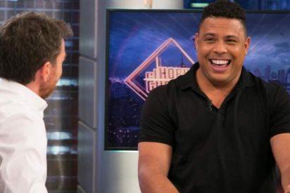 'El Hormiguero': Ronaldo Nazario confiesa a Pablo Motos que sus fiestas eran geniales