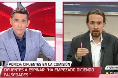 Pablo Iglesias trata de loca y desquiciada a Cristina Cifuentes