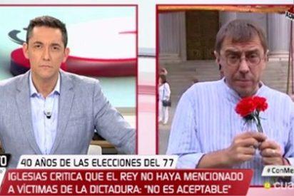 """Javier Ruiz hunde en la miseria a Monedero por decir que los republicanos no pudieron concurrir a las primeras elecciones: """"Pero si acudió el PCE, Juan Carlos"""""""