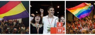Desde la bandera republicana hasta la bandera gay: la España plurinacional de Sánchez