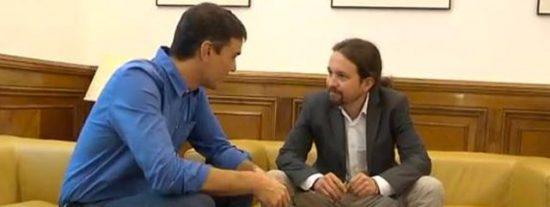 """ABC le mete un buen estacazo a Sánchez e Iglesias: """"No hay que descartar nada de estos dos irresponsables de la política"""""""