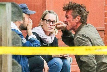 El impresionante ataque de furia de Sean Penn contra el novio de su hija en la vía pública