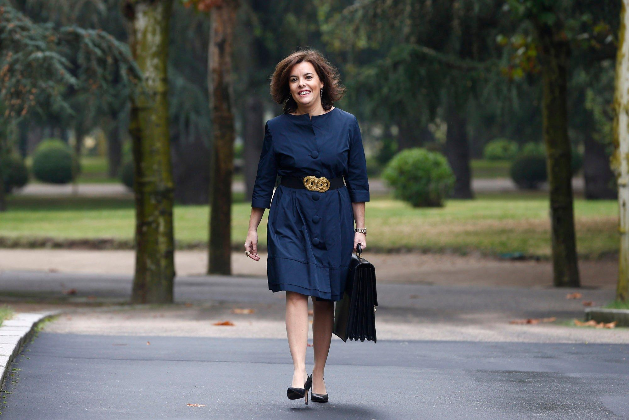 Soraya Sáenz de Santamaría encabezará la delegación española