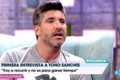 Toño Sanchís afirma tener una nueva táctica para ganar el recurso a Belén Esteban