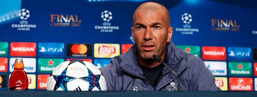 ¡Top Secret bomba! A Zidane se le escapa (sin querer) el once inicial de la final de la Champions