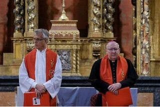 La Iglesia de la Clerecía de Salamanca acoge la primera celebración de la liturgia luterano-católica