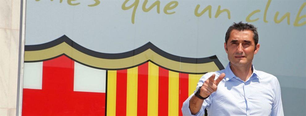 Valverde pasa al escoba en el Barça: echa a cuatro, liquida a tres, salva a dos y fulmina a un crack