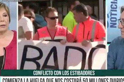 """Celia Villalobos a Jordi Gordon a cuenta de los estibadores: """"¡No hagas demagogia! ¡Eres un frívolo!"""""""