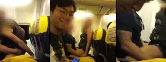 [VÍDEO] La exhibicionista pareja que tiene sexo en un avión de Ryanair rumbo a Ibiza