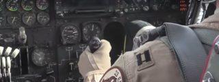 El bombardeo de un B-52 a las ratas yihadistas visto desde la cabina del piloto
