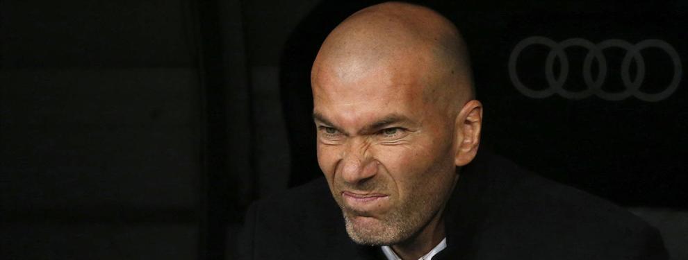 """Zidane desata un lío de celos en el Madrid con una promesa a una estrella (""""Y uno se va a la calle"""")"""