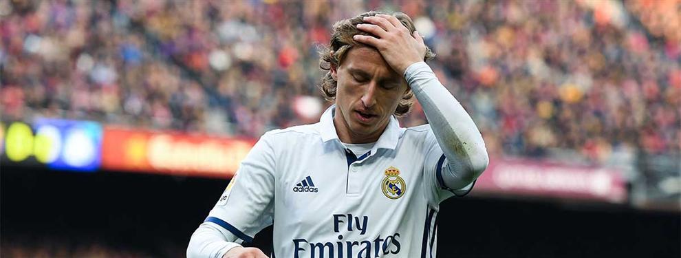 Zidane pone a Luka Modric en la puerta de salida con el fichaje de su sustituto en el Real Madrid
