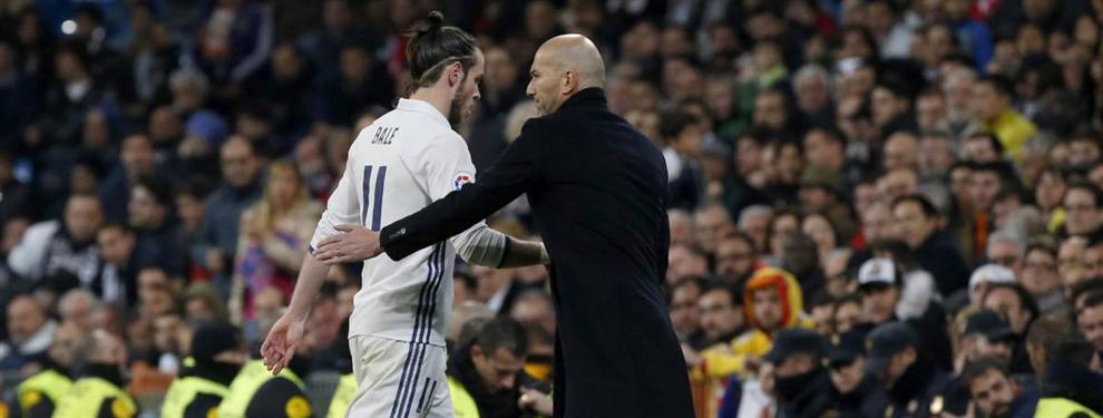Zidane se saca un relevo para Gareth Bale de la manga (y pone al Real Madrid patas arriba)