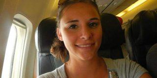 La lasciva pasajera que ha sido condenada por meterle mano a una joven en el avión
