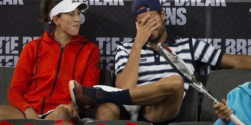 Garbiñe Muguruza, mucho tenis, bonitas piernas y pocos novios