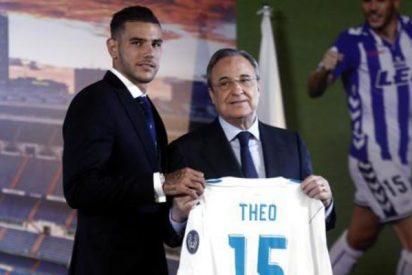"""Theo se presenta en el Real Madrid: """"Estoy en el mejor club del mundo"""""""