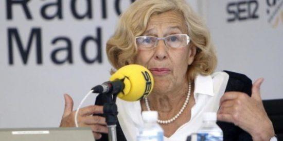 La podemita Carmena, abucheada durante el homenaje a Miguel Ángel Blanco