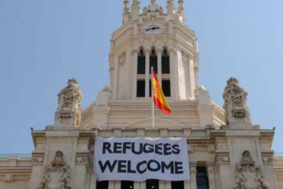 Carmena y los de Podemos dejan a 80 refugiados en la calle durante diez días
