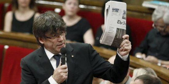 """Puigdemont amenaza a Rajoy: """"Les molestamos, les damos miedo y más miedo les daremos"""""""