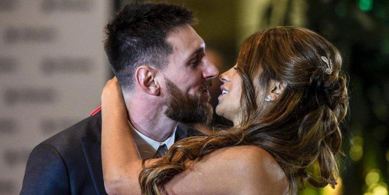 La boda de Messi y Antonella: se casaron y serán felices y comerán perdices