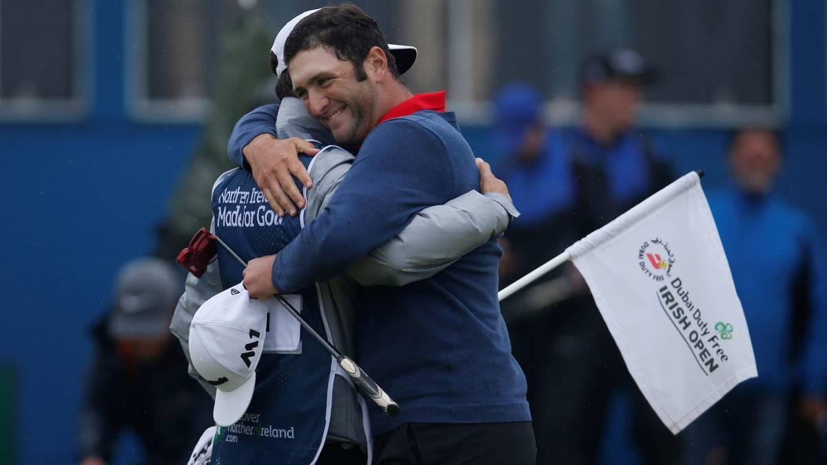 Jon Rahm es el 'Rey de Europa': gana el Open de Golf de Irlanda