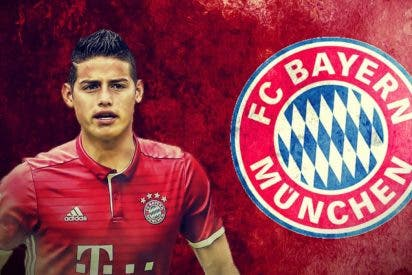 El Real Madrid cede a James al Bayern Múnich por dos temporadas