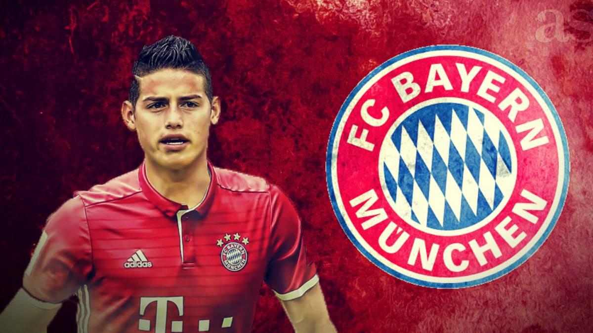 El Real Madrid cede a James al Bayern Múnich por dos temporadas