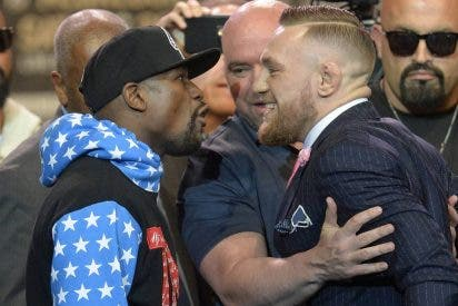 Los feroces Mayweather y McGregor alzan el telón en Los Ángeles