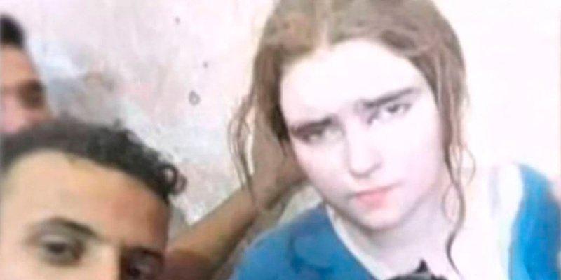 Esta es la alemana de 16 que han atrapado en Mosul en un túnel de los terroristas islámicos
