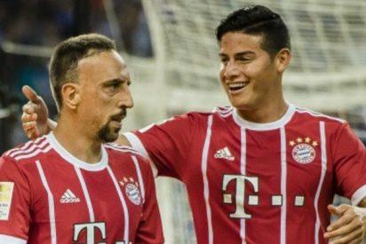 """James: """"El Bayern es igual de grande o más que el Real Madrid"""""""