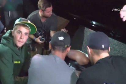 [VÍDEO] Justin Bieber atropella a un fotógrafo