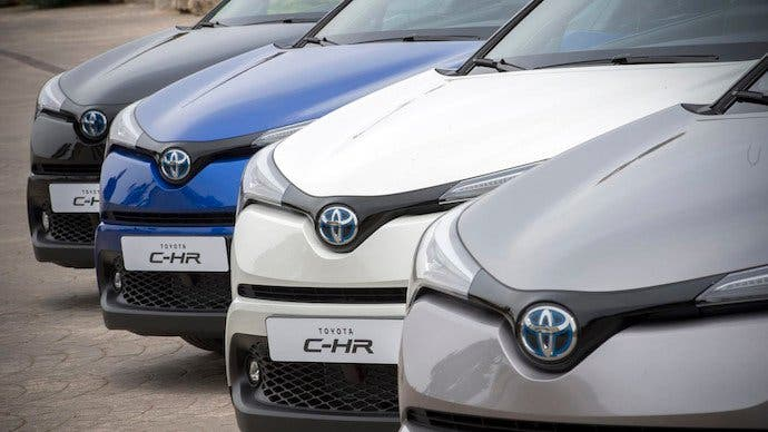 24 Horas Híbridas Toyota C-HR