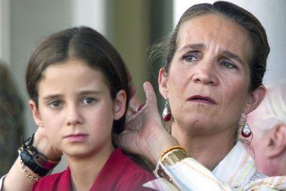 Las preocupantes salidas nocturnas de la hija de la infanta Elena que traen de cabeza a sus padres