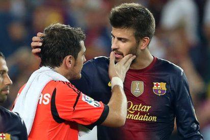 Piqué vacila a Casillas en Instagram
