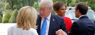 [VÍDEO] El piropo de Donald Trump a la primera dama francesa ante su esposo