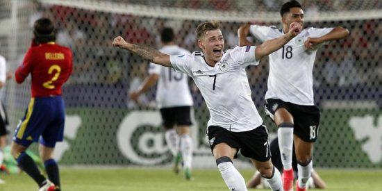 Los de la Super 21 han sido germanos: Alemania 1 - España 0