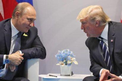 El americano Trump y y el ruso Putin acuerdan un alto el fuego en el suroeste de Siria