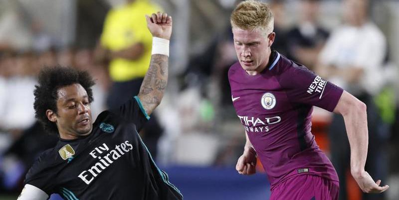 El Manchester City de Guardiola humilla al Real Madrid de Zidane