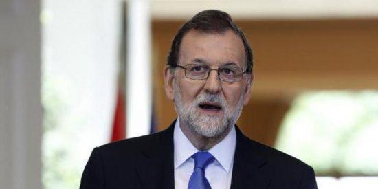 """Mariano Rajoy: """"No va a haber referéndum de autodeterminación en Cataluña"""""""