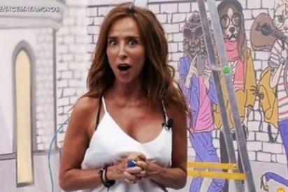 María Patiño sorprende a a los hinchas del 'Deluxe' confesando sus supersticiones